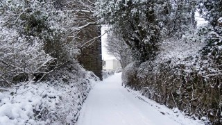 Back Lane viaduct in the snow..   #snowday